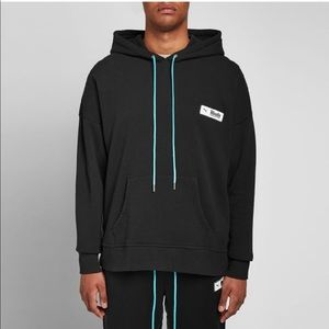RHUDE X PUMA Collab Men's Hoodie Black Sweatshirt